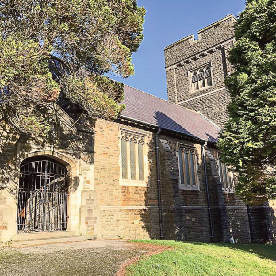 A very special donation to Saint George's Parish Church Treorchy