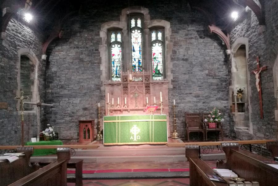 Installation at St. George's Church,  Treorchy